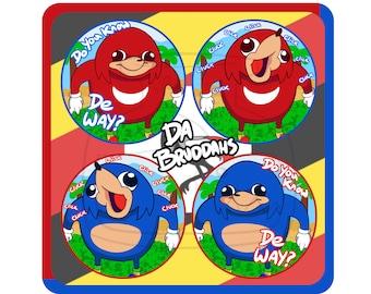 Ugandan Knuckles Buttons