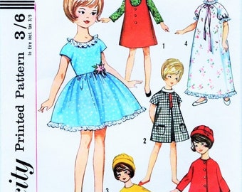 Vtg 60s Barbie Tammy Doll Clothes Pattern HUGE WARDROBE Gown Ballerina Costume