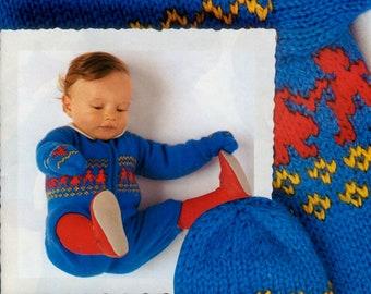 Free Baby Knitting Patterns Etsy