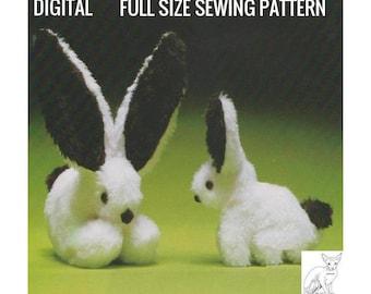 Long Eared Bunny Etsy