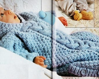 d440758a4cbd Baby cocoon knitting pattern for