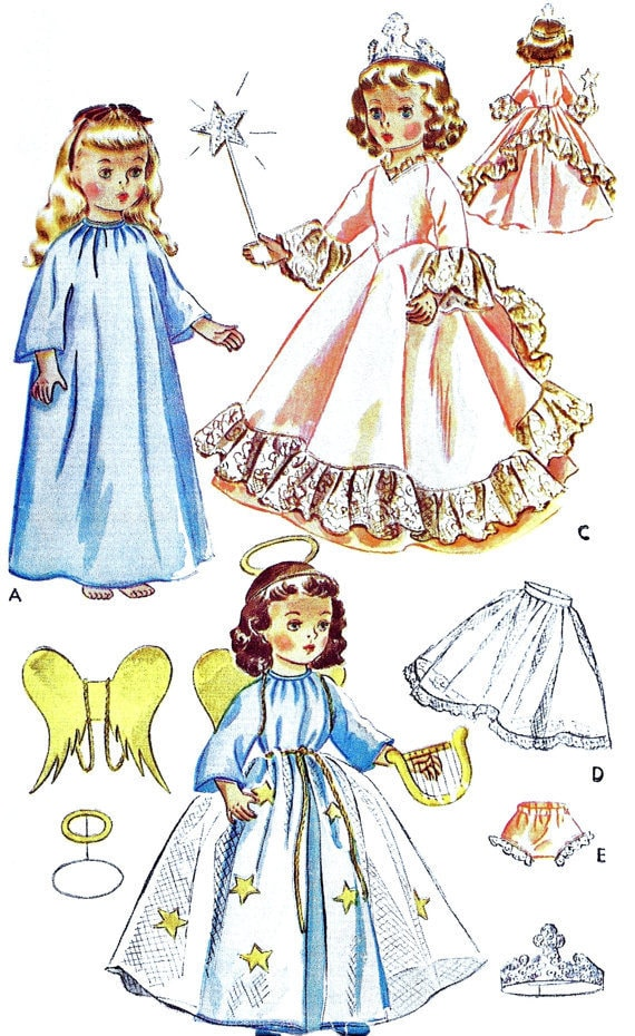 Instant PDF Digital Download Vintage Sewing Pattern to make A ...