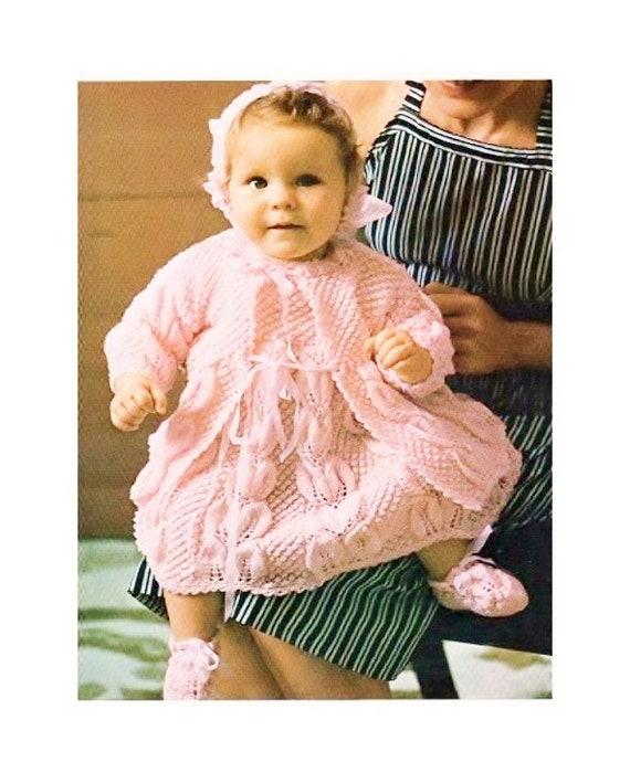 27056197b Instant PDF Digital Download Vintage Knitting Pattern for