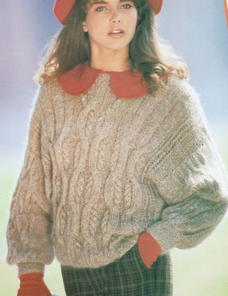 81115571722d Instant Digital Download PDF Vintage Row by Row Knitting