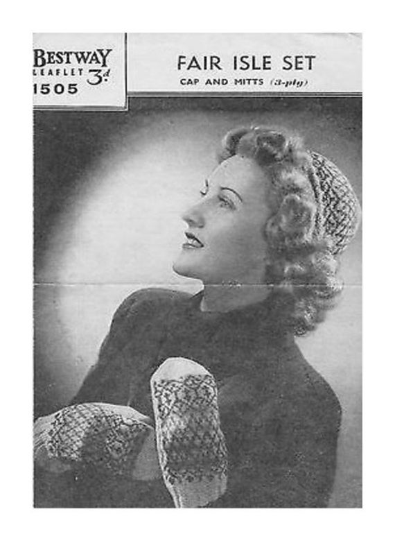 Almost Free Instant Pdf Download Vintage Knitting Pattern To Etsy