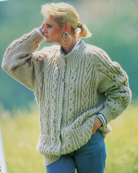 2a5b1afcf Instant Download PDF Vintage Row by Row Knitting Pattern