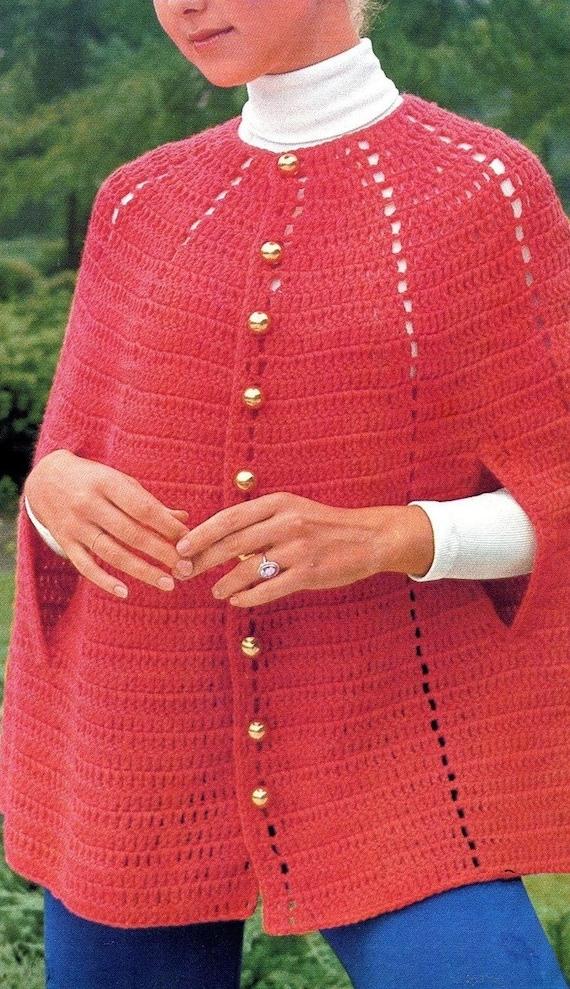 Instant Pdf Digital Download Vintage Crochet Pattern To Make A Etsy