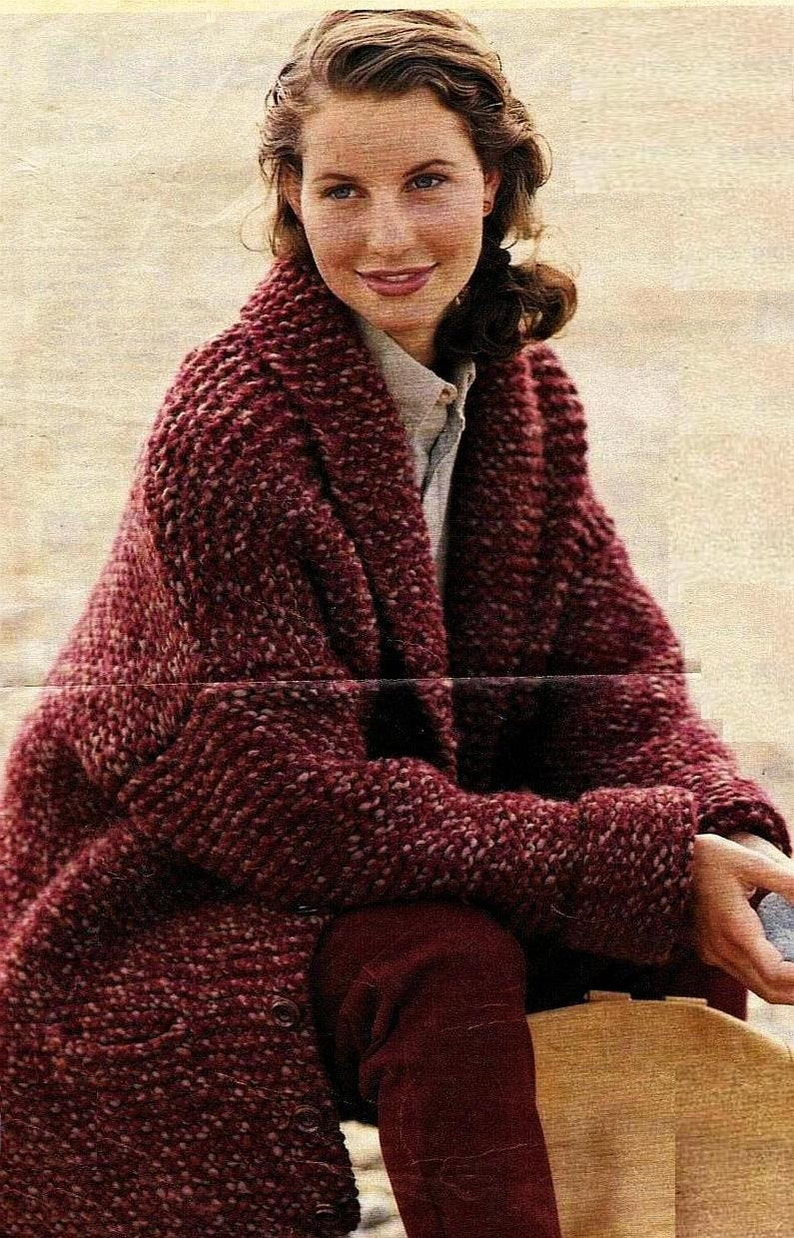 c0e0cbba5 Instant Download PDF Vintage Knitting Pattern to make A Ladies