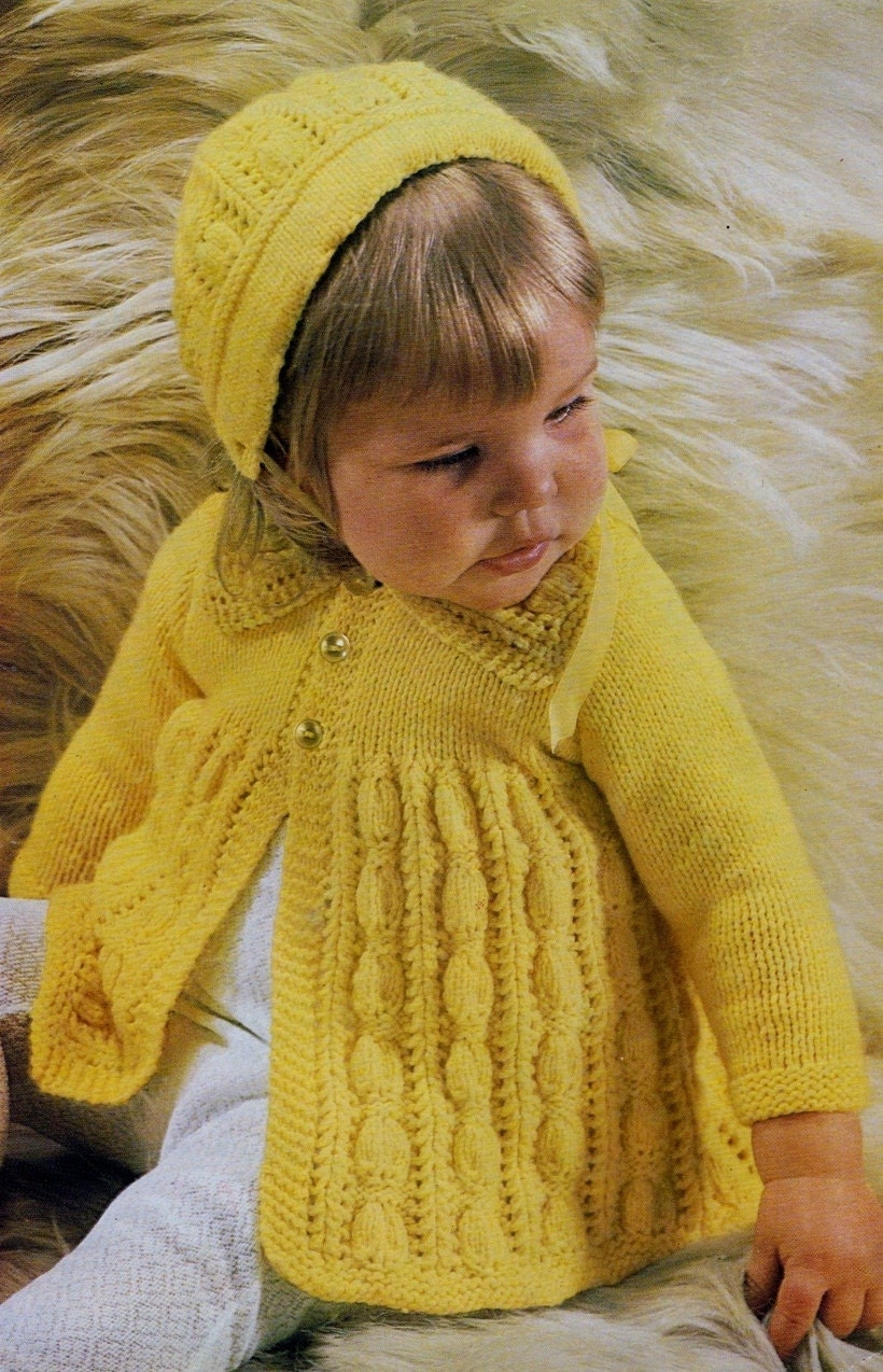 b1b57c86c Instant Digital Download PDF Vintage Row by Row Knitting Pattern to ...