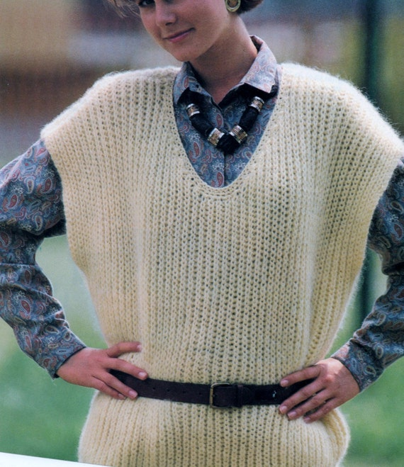Instant Digital Download PDF Vintage Row by Row Knitting  e12fc5b50