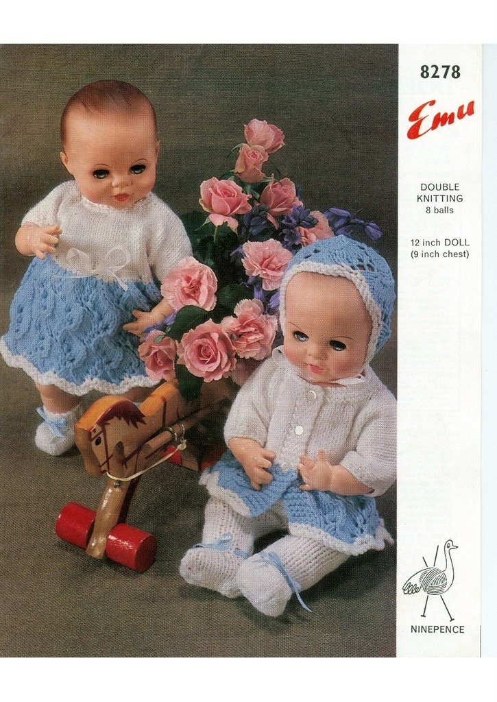 a95ad9314 Instant PDF Download Vintage Row by Row PDF Knitting Pattern to make ...