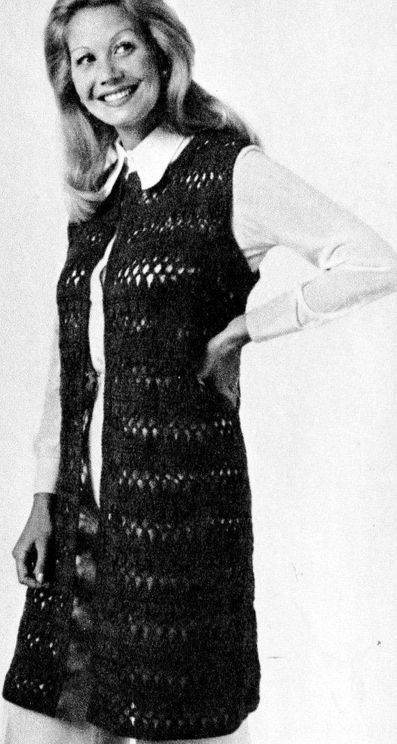 Instant Pdf Digital Download Vintage Crochet Pattern To Make A