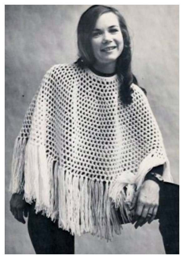 Almost Free Instant Pdf Download Vintage Crochet Pattern To Make A