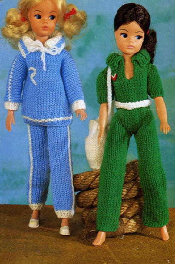 Instant Digital Download Pdf Vintage Knitting Pattern To Make A
