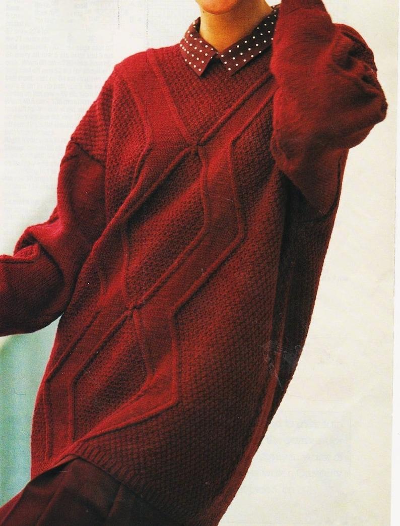 c6d542cb1b948 Instant PDF Digital Download Vintage Knitting Pattern to make