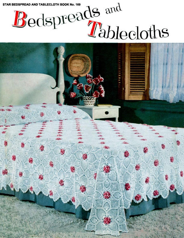Vintage Crochet Pattern Booklet 1960s To Make 8 Household Etsy