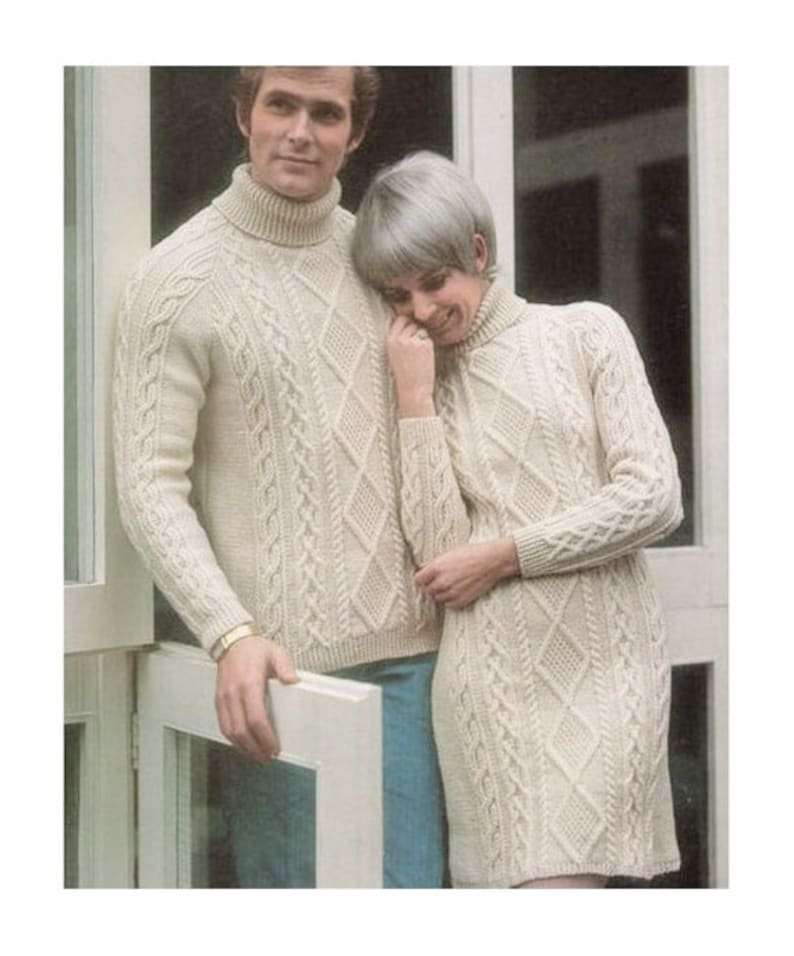 dccd794dfcce Instant Download PDF Vintage Row by Row Knitting Pattern to