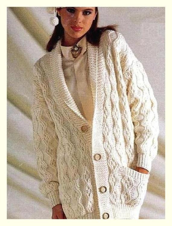 6d09b1c95e5a Instant Digital Download PDF Vintage Knitting Pattern Ladies
