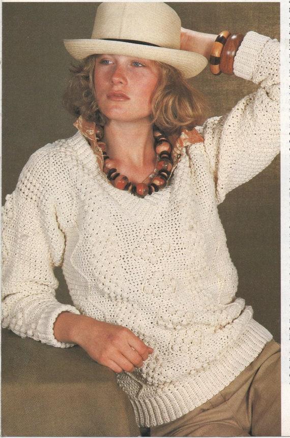 a5d50d5ad Instant PDF Digital Download Vintage Crochet Pattern A Ladies