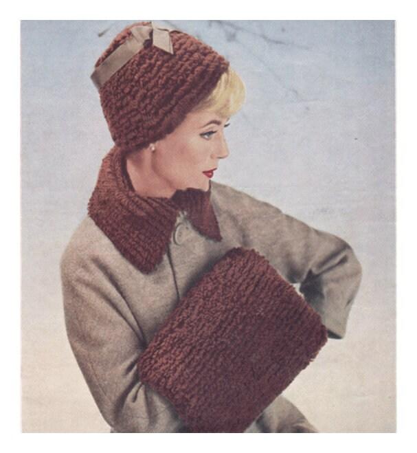 Instant Pdf Digital Download Vintage Knitting Pattern To Make Ladies