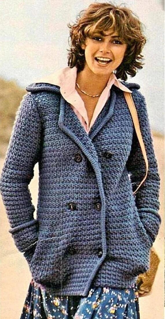 eec41e595d82 Instant PDF Download Vintage Crochet Pattern to make Ladies
