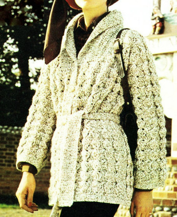 Almost Free Instant Pdf Download Vintage Crochet Pattern