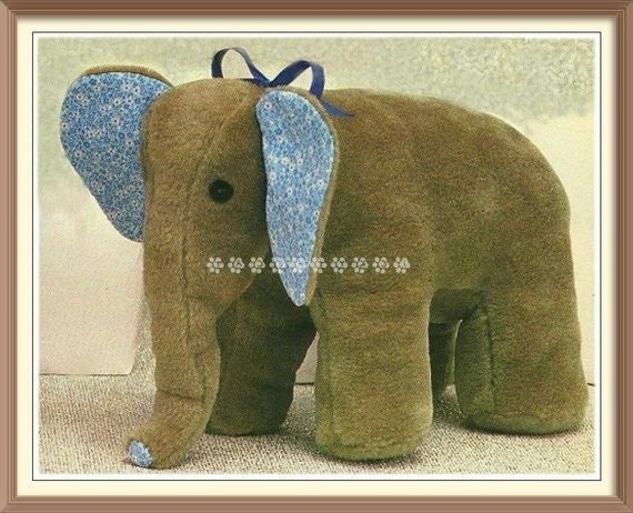 ALMOST FREE Vintage Sewing Pattern To Make A Soft ToyStuffed