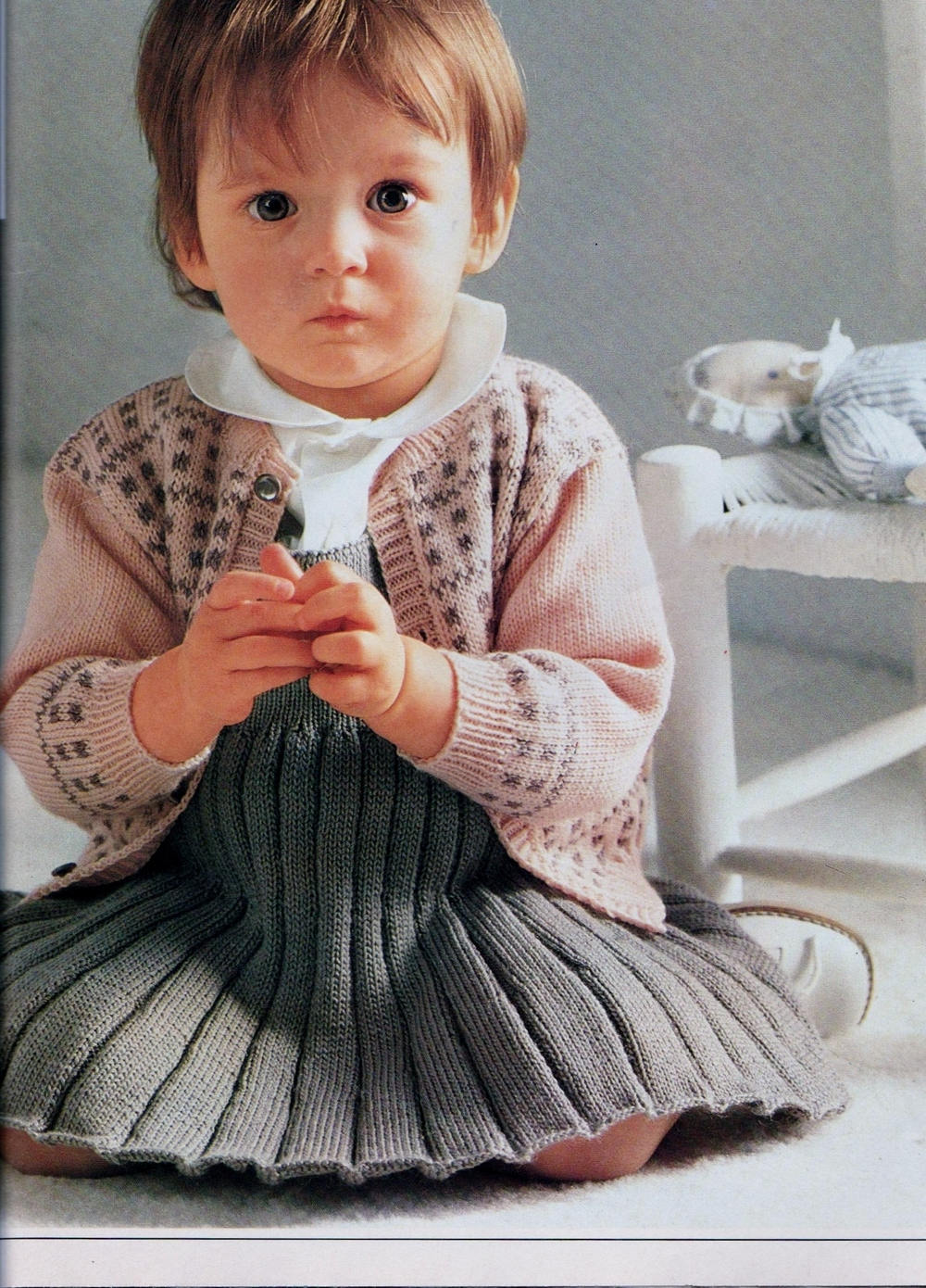 b00098276 INSTANT PDF Digital Download Vintage Row by Row Knitting Pattern to ...