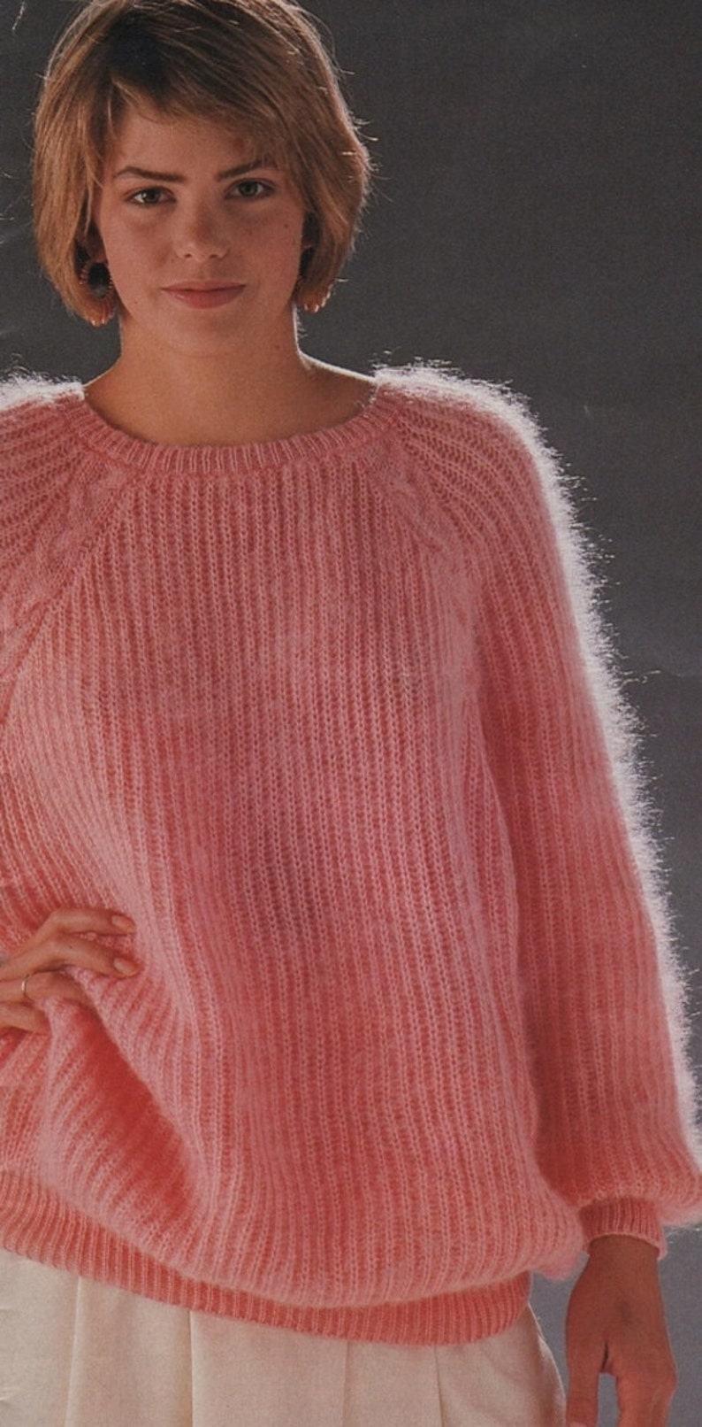 669cc9dc5 Instant Download PDF Vintage Knitting Pattern to make Ladies
