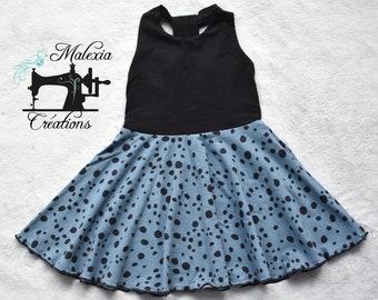 Dress that turns: Polka dot chic