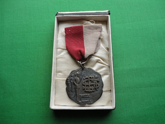 1910 Sterling Drill Medal