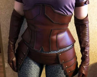 World of Warcraft cosplay costume - Sylvanas Windrunner Real Leather Set