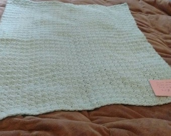 Baby blanket green