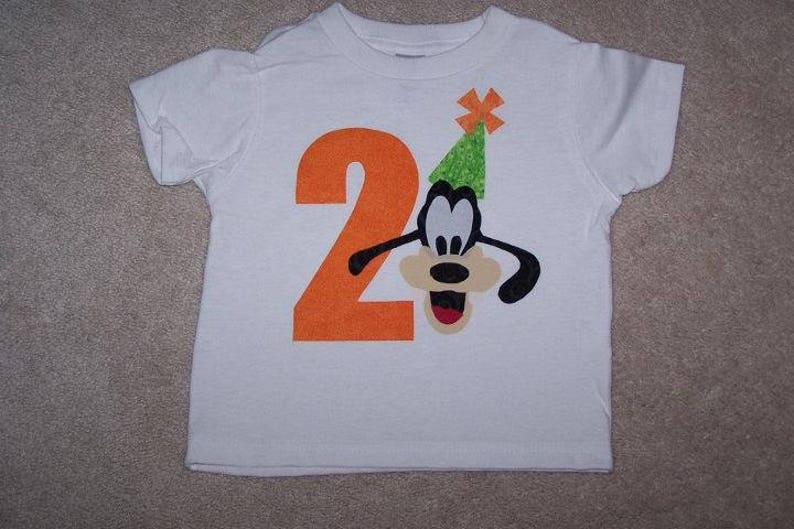 7aa20dec09f74 GooFY Number Age BiRTHDaY Hat Custom Boutique T SHIRT Tee Holiday Vacation