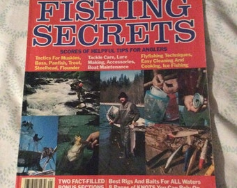 SAVE 25% WITH CODE: SAVE25 Vintage 1980 Edition of Fishing Secrets Magazine - A Sports Afield Special