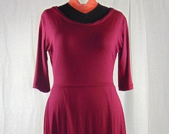 9dea94a27cf255 Viscose jersey jurk