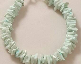 Sea Foam Green Sea Shell Bracelet - Sea Shell Bracelet - Sea Shell - Ocean Bracelet - Beach Bracelet - Beach Jewelry - Ocean Jewelry - Shell