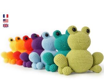 ANURA the FROG - Amigurumi Crochet PDF Pattern