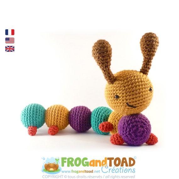 Chenille - Amigurumi Crochet PDF Patron - Tuto Français