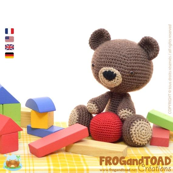 Amigurumi Crochet Teddy Bear Pattern Pdf Häkeln Teddybär Etsy