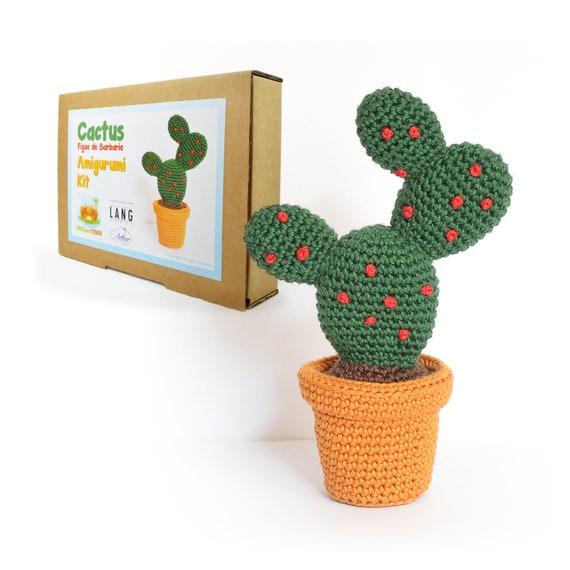 Cactus Amigurumi Crochet Kit Figue de Barbarie / Prickly   Etsy