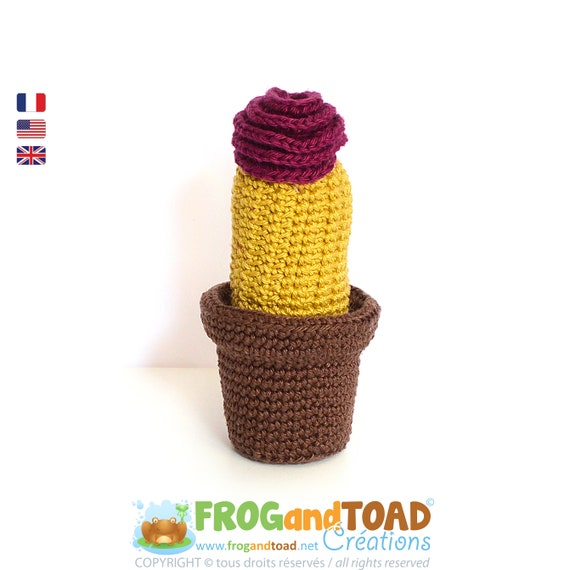 CACTUS Fleurs - TRIO Collection - Amigurumi Crochet Patron - 3 PDFs ...