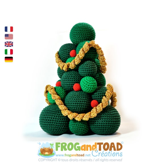 Christmas Xmas Tree Amigurumi Crochet Pdf Pattern Uncinetto Etsy