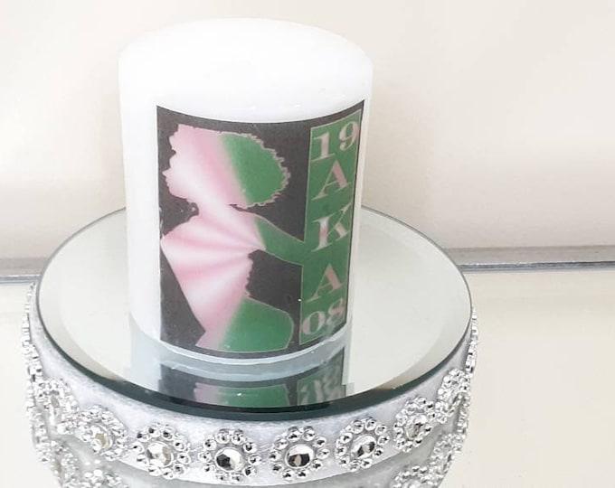AKA Soroity 1908 Wax Candle