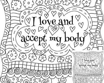 I Love And Accept My Body