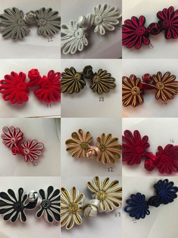 """Chinese knot large Tassels X 2 6/"""" 15 cm Drop ** 9 Different Colours **"""