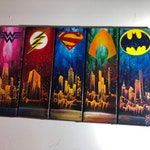 Custom order. 5 canvases.