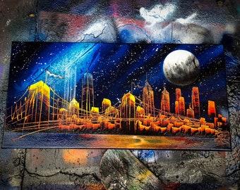 Spray Paint Art Etsy