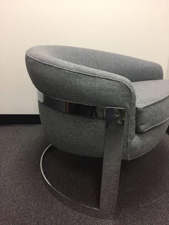 Fantastic Mid Century Modern Chrome Lounge Chair By Milo Baughman For Thayer Coggin Short Links Chair Design For Home Short Linksinfo