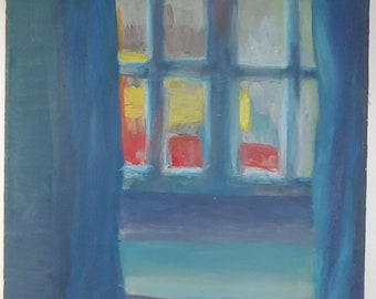 Original Impressionist Abstract Painting